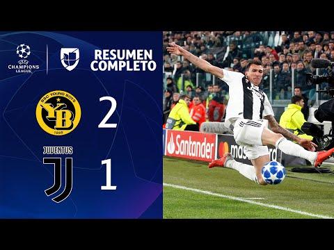 Young Boys 2-1 Juventus - GOLES Y RESUMEN -  Grupo H - UEFA Champions League