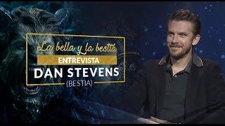 """Entrevista a Dan Stevens donde comparte su experiencia filmando """"La Bella y la Bestia"""""""