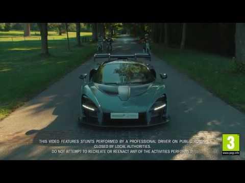 McLaren Senna desafiado no Forza Horizon 4