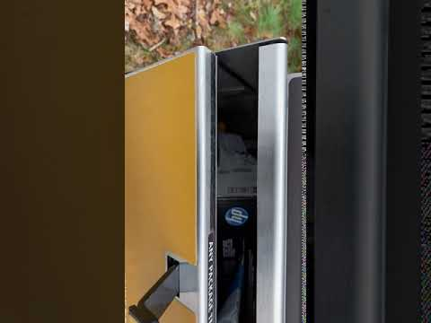 UPS - Never use drop boxes - Drivers can steal packages