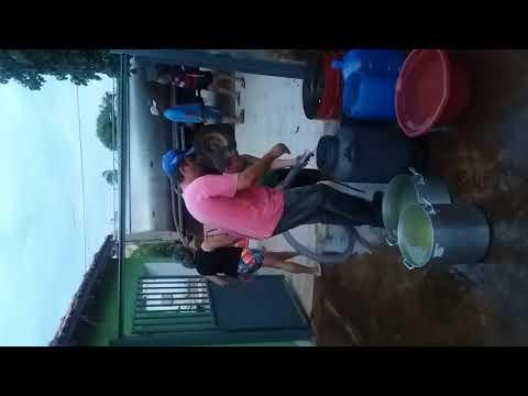Falta de água em aracu