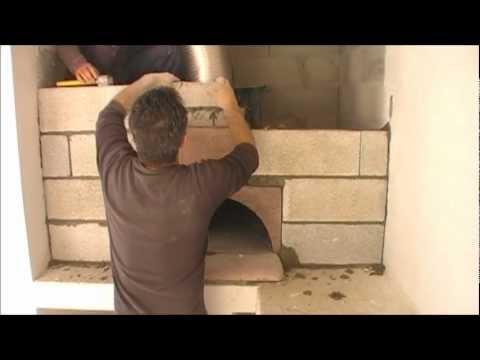 Comment construire mon four à bois, four à pizza le Pizzaiollo ?