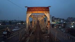 Train Driver record YB3 Hanoi - Yen Bai (2017)