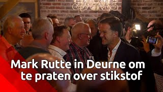 Stikstofbijeenkomst met premier Mark Rutte