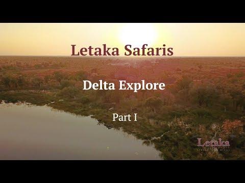 Letaka Safaris: Delta Explore - Part 1