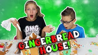 GINGERBREAD HOUSE FAIL!!!
