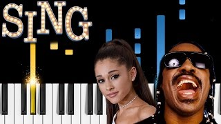 Stevie Wonder & Ariana Grande - Faith (Sing soundtrack) - Piano Tutorial