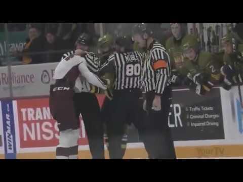 Liam Kirk vs. Brad Chenier
