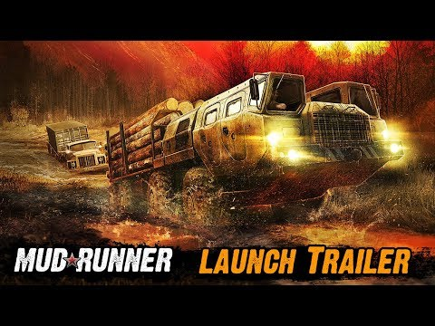 Spintires: MudRunner - Launch Trailer thumbnail