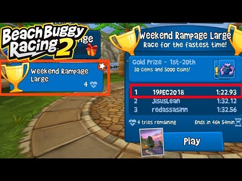 Beach Buggy Racing 2   Weekend Rampage #4   1st Rank