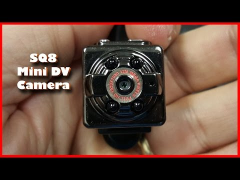 SQ8 Mini DV Camera 1080P Full HD Car DVR Review with Samples