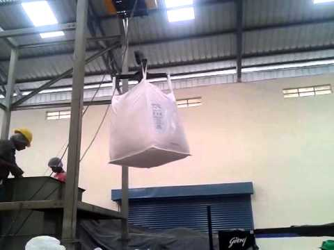Jumbo Bag Unloading System