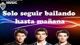 Dance Until tomorrow - Jonas Brothers (Traduccion al Español)