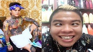 Hot boy xăm trổ công khai hẹn gặp Dương Minh Tuyền giải quyết ân oán
