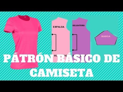 PATRÓN BÁSICO DE CAMISETA
