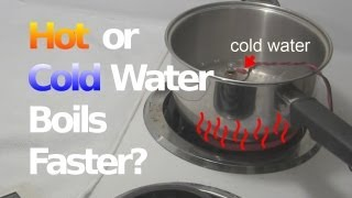 Does Cold or Hot Water Boil Faster?