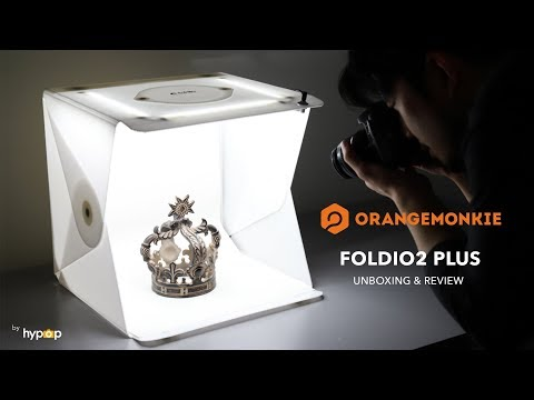 Foldio2 Plus Unboxing and Review - All-in-one Portable Studio Light Tent