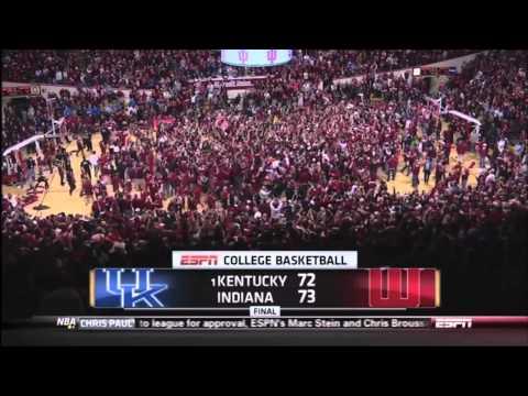 IU Buzzer Beater vs. Kentucky (HD)