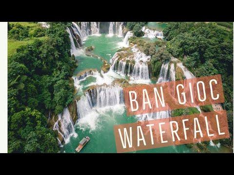 Ban Gioc Waterfall ( Detian Waterfall ) - The Biggest Waterfall In Southeast Asia