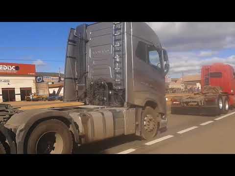 Greve dos caminhoneiros em barreiras bahia