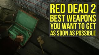 Red Dead Redemption 2 Best Weapons YOU WANT TO GET As Soon As Possible (RDR2 Best Weapons)