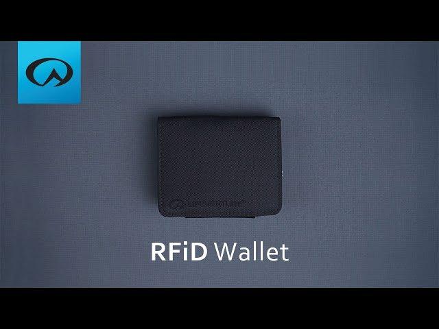 Видео Кошелек Lifeventure RFID Tri-Fold Wallet aubergine