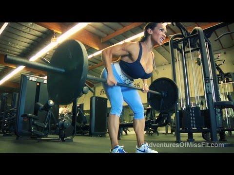 Denise Masino Back Workout w/ Rich Piana