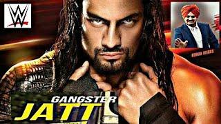 Gangster Jatt - Roman Reigns Action Video |Sidhu Moosewala| WWE Punjabi |