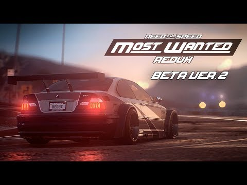 NFS Most Wanted REDUX 2019 | Ultimate Cars & Graphics Mod in 4K