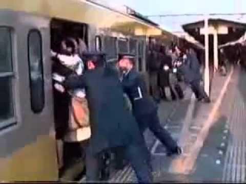 Επάγγελμα: σπρώχτης τρένων