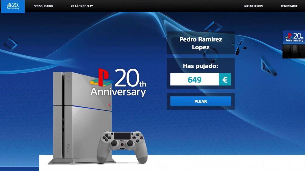 EMAGON desvela cómo hacerte con PS4 Edición 20 Aniversario en España