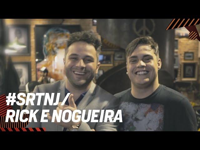 RICK E NOGUEIRA NUMA BATALHA DE GAME