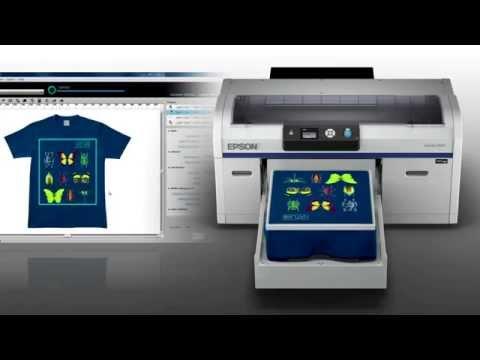 Impressora de Camisetas Epson SureColor F2000