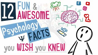12 Fun And Awesome Psychology Facts You Wish You Knew