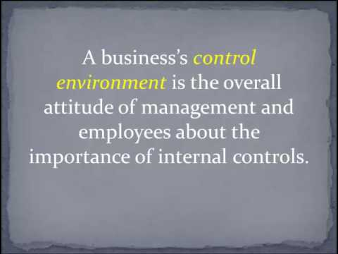 Introduction to SOX and Internal Controls - YouTube