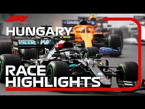 F1 2020 第3戦ハンガリーGP レースハイライト動画