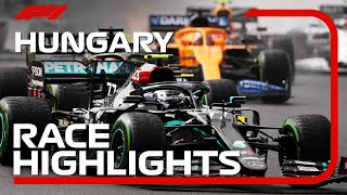 2020 Hungarian Grand Prix: Race Highlights