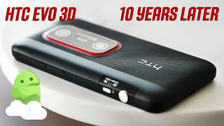 HTC EVO 3D in 2021: Crazy 3D Phone, 10 Years On! Retro Review