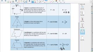 6.2b Perimeter and area of polygons