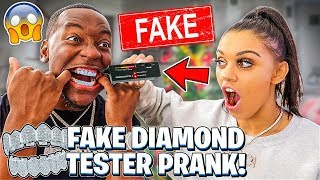 Testing My Husband's $500,000 Diamonds With A FAKE DIAMOND TESTER 💎