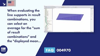 "FAQ 004970 | When evaluating the line supports in result combinations, you can select an average for the ""sum of result combinations"" and the ""displayed mean values"". What does the ""Sum of Result Combinations"" feature include?"