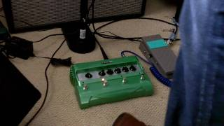 Line 6 Delay Pedal Looper Demo John Mayer Heart Of Life