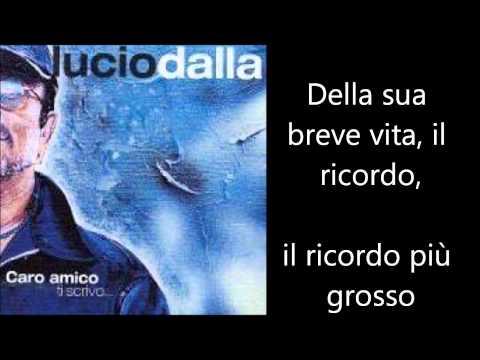 , title : 'Lucio Dalla - 4 Marzo 1943 Testo Lyrics'