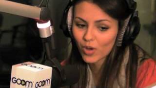 Виктория Джастис, Victoria Justice Interview at GOOM Radio