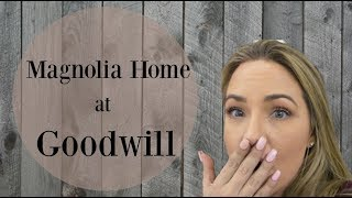 Home Decor Haul Magnolia Homes Fixer Upper At Goodwill! So Excited To Show You Guys!!