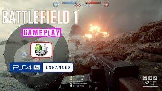 Battlefield 1 PS4 Pro Multiplayer Gameplay
