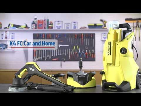 Karcher Full Control K4 Car & Home 130bar Pressure Washer 1.8kW 240V