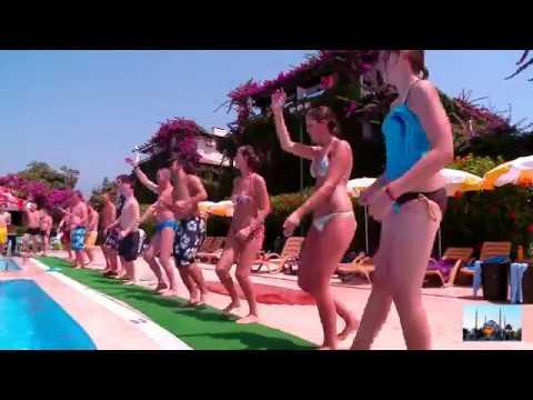 Видео-обзор окрестностей у отеля Клуб Титан. Аланья, Турция