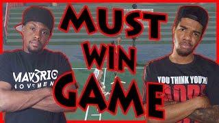 SUSPENSEFUL MUST WIN GAME!! - NBA 2K16 Head to Head Blacktop Gameplay