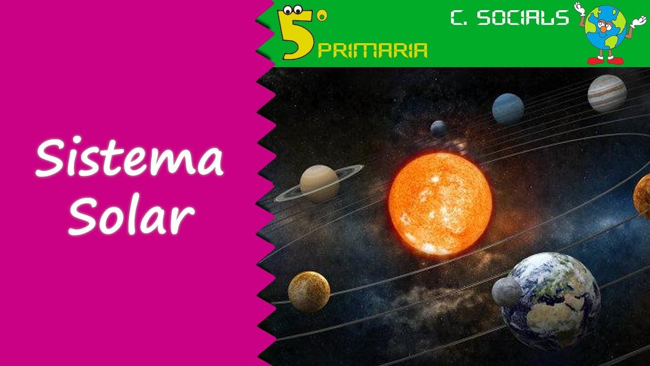Sistema Solar. Socials, 5é Primària. Tema 1